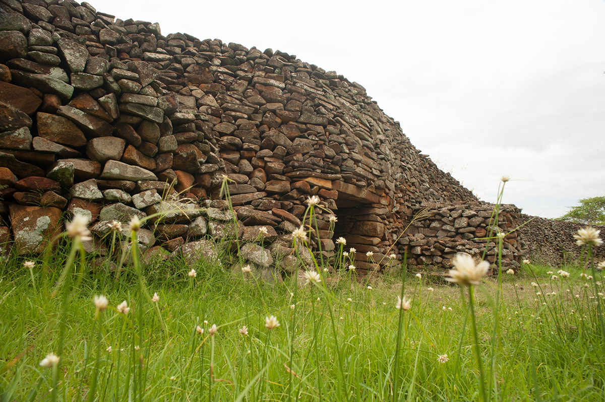 Archaeological site of Thimlich Ohinga, a complex surrounded by stone walls